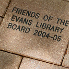 Friends Plaza Pavers